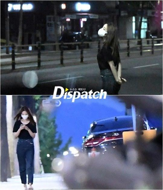 Former Momoland member Yeonwoo photographed by Dispatch. (Photos: Dispatch)