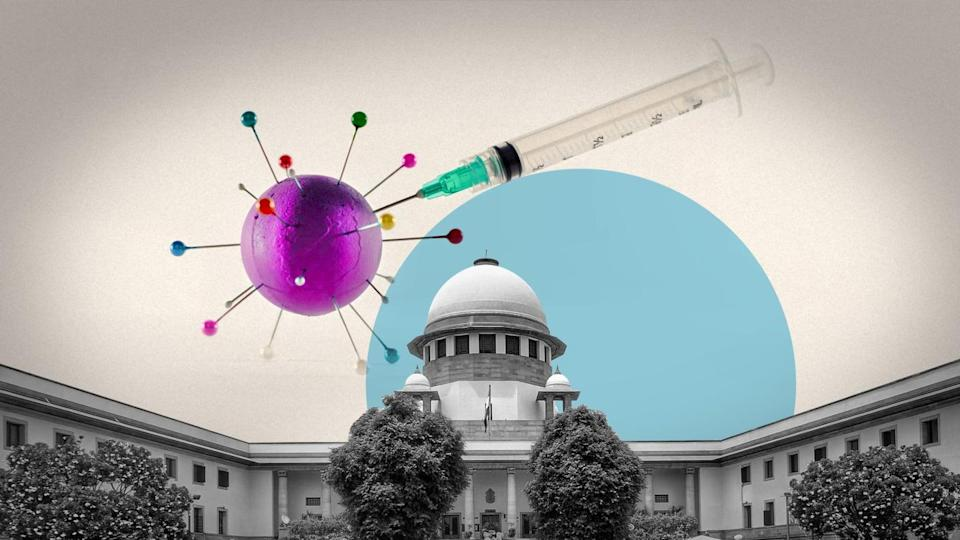 Prioritizing lawyers, judges for COVID-19 vaccines discriminatory: Centre to SC
