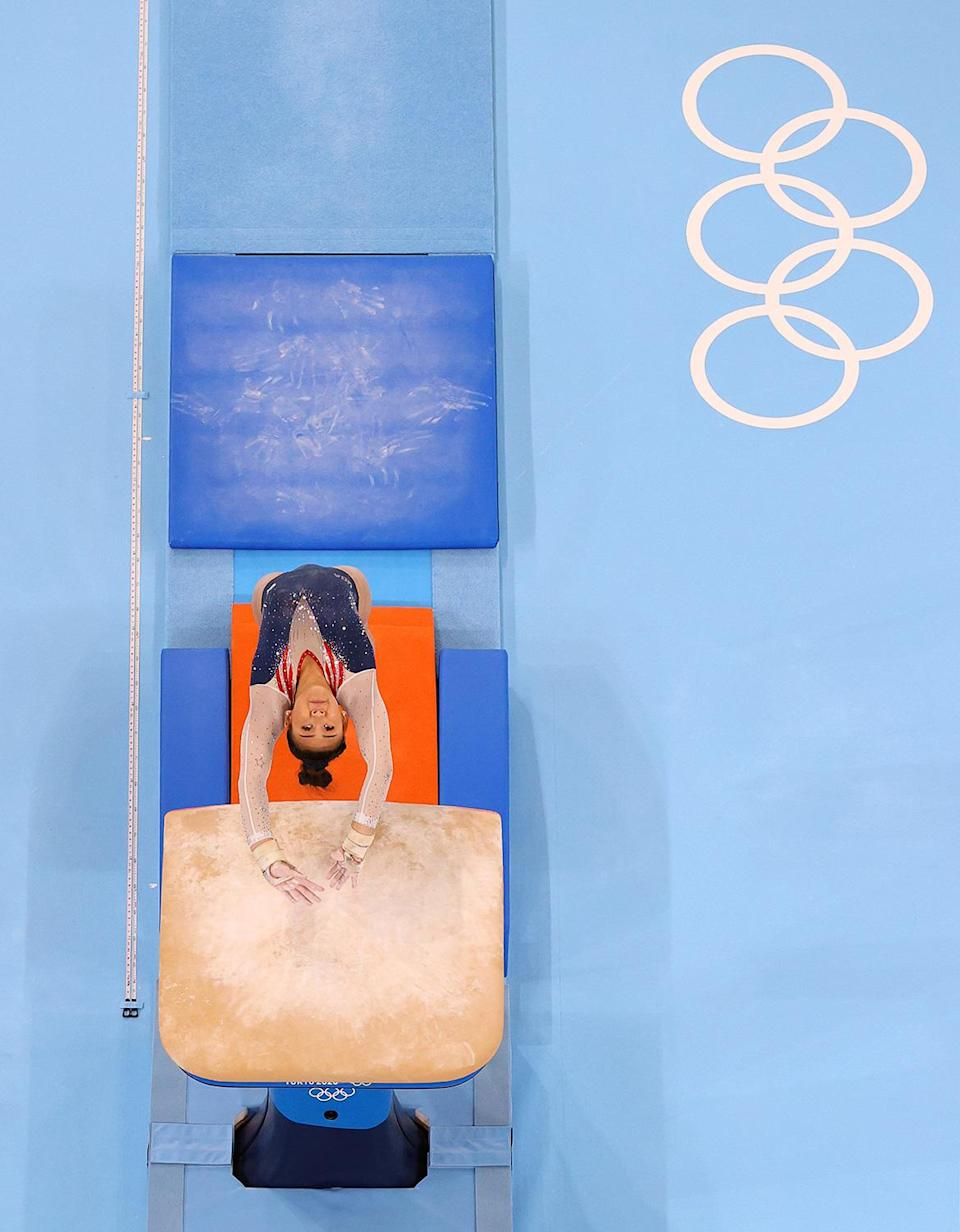 """<p>While chatting with reporters on Thursday, Lee also opened up about previous times in her life when she <a href=""""https://people.com/sports/tokyo-olympics-sunisa-lee-didnt-think-she-could-win-gold-gymnastics-all-around/"""" rel=""""nofollow noopener"""" target=""""_blank"""" data-ylk=""""slk:considered quitting gymnastics"""" class=""""link rapid-noclick-resp"""">considered quitting gymnastics</a> altogether.</p> <p>""""The waiting game was something that I hated so much ... but when I saw that my score went on top, it was so emotional. I didn't think I'd ever be here,"""" she said. """"There was a point where I wanted to quit, so to even say that I'm an Olympic gold medalist and be here is just so crazy.""""</p>"""