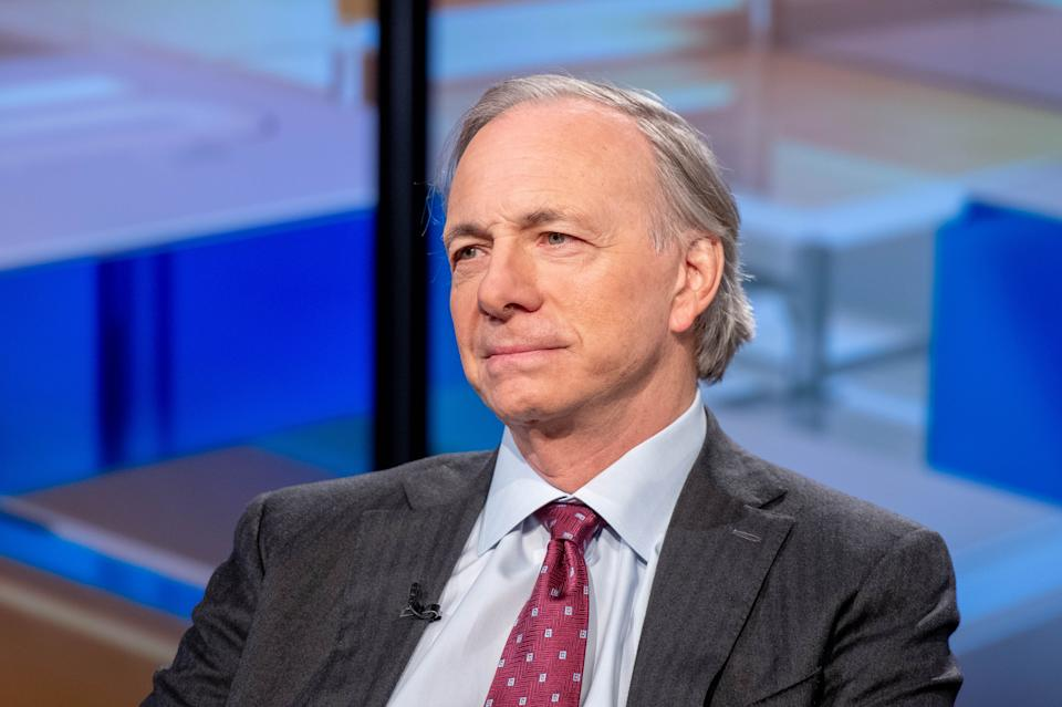 "NEW YORK, NEW YORK - NOVEMBER 30: Bridgewater Associated founder Ray Dalio visits ""Mornings With Maria"" hosted by Maria Bartiromo at Fox Business Network Studios on November 30, 2018 in New York City. (Photo by Roy Rochlin/Getty Images)"