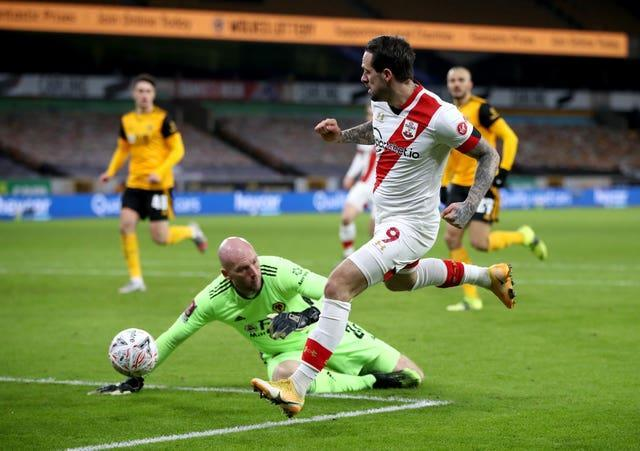 Danny Ings scored as Southampton beat Wolves on Thursday