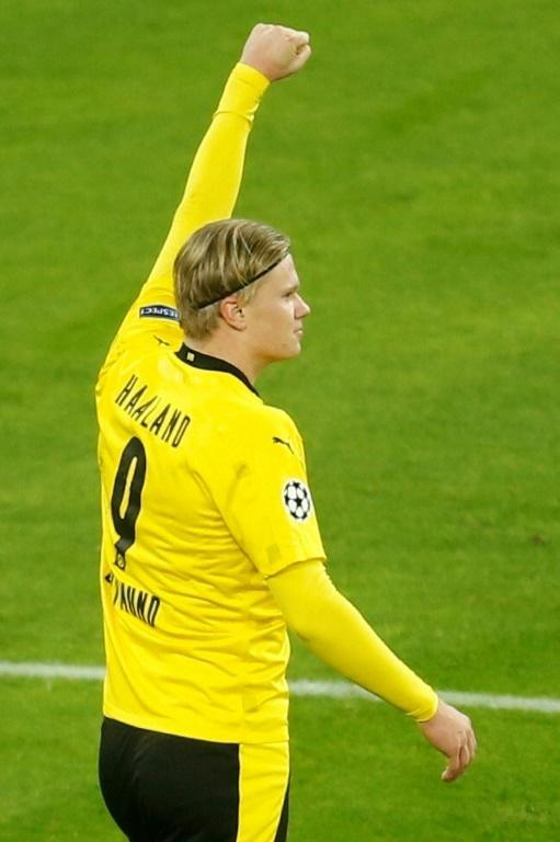 Dortmund striker Erling Braut Haaland has scored six goals in his last two games