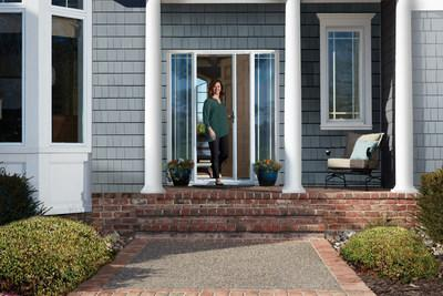 Andersen Introduces Luminaire A Retractable Screen Door That Integrates Seamlessly Into Existing Frames