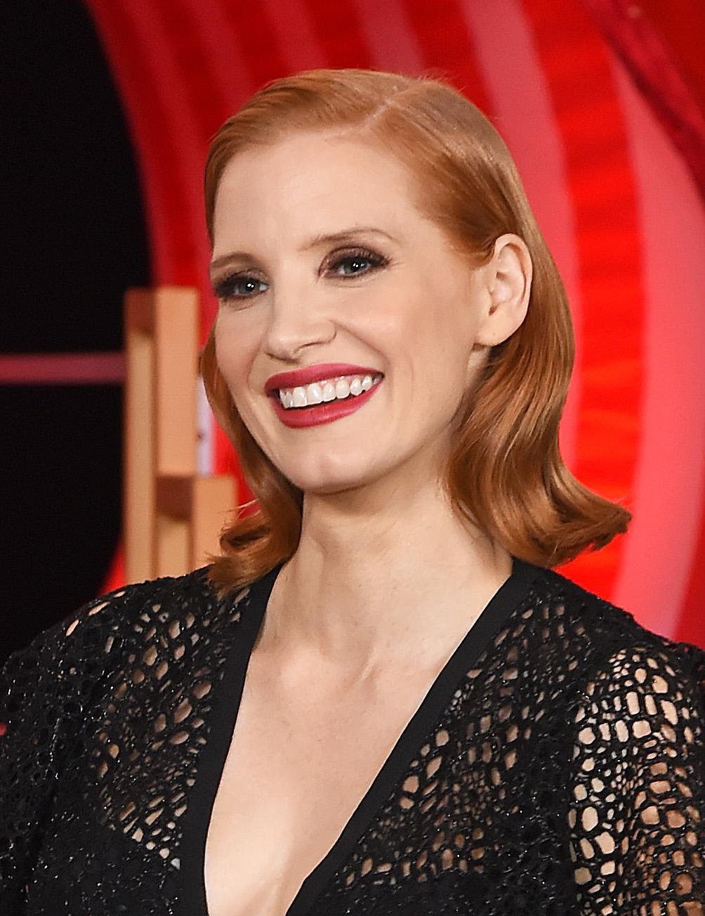 LONDON, ENGLAND - SEPTEMBER 02: Jessica Chastain attends the European Premiere of