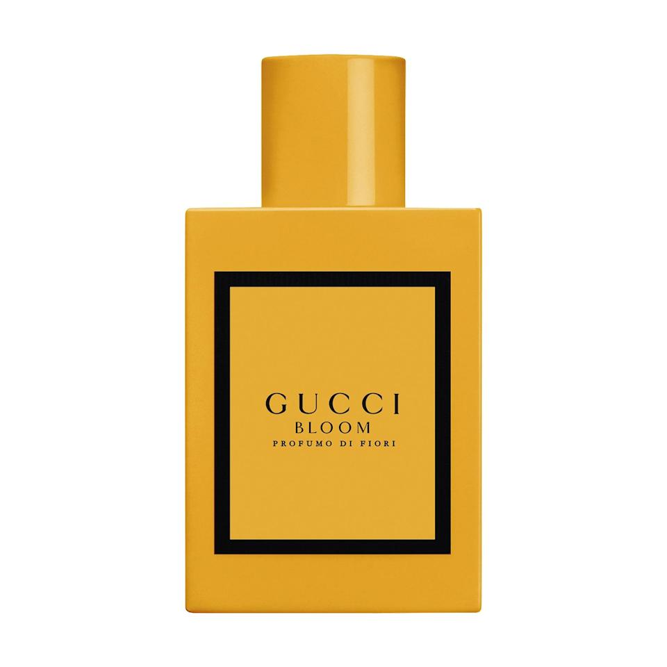 <p>The newest in the collection, this <span>Gucci Bloom Profumo di Fiori Eau de Parfum</span> ($34-$130) still has the white floral notes of the other Bloom fragrances . . . but adds in powerful tuberose, ylang ylang, and sandalwood for a fresh take.</p>