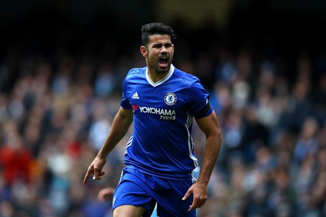 Diego Costa is on his way out of Chelsea