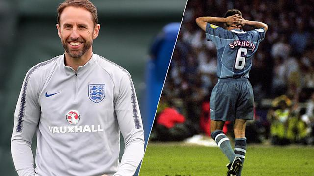 Gareth Southgate knows all too well about the pain of missing penalties.