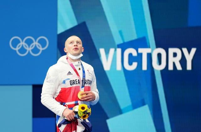 It was his second Olympic gold