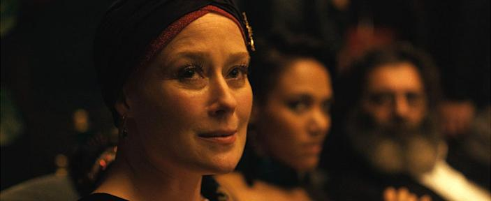 Jennifer Ehle as Amanda, who was a star dancer, but now needs the support of a carer