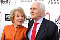 <p>Buydens and Douglas arrive at the Heart Foundation Gala in Hollywood. </p>