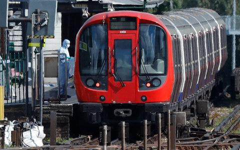 Parsons Green District Line Tube train - Credit: Frank Augstein/AP