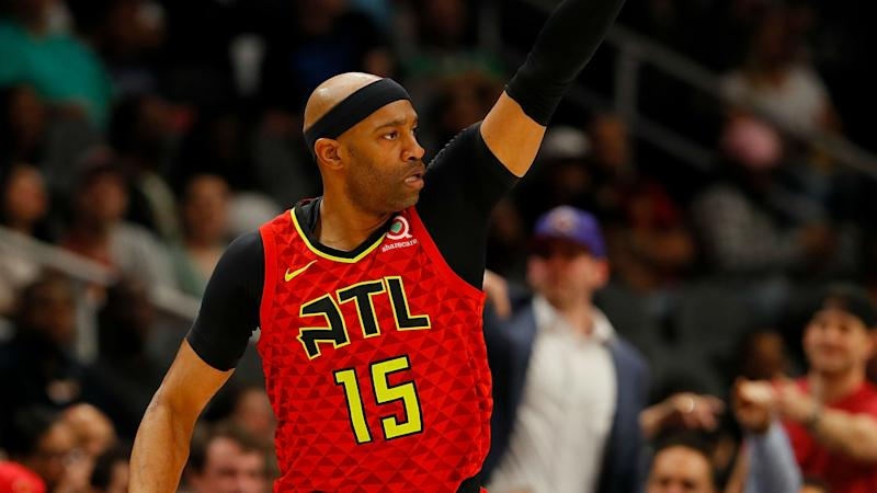 Vince Carter re-signs with Hawks for 22nd NBA season