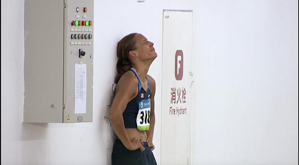 """The Weight of Gold"" Lolo Jones crying"