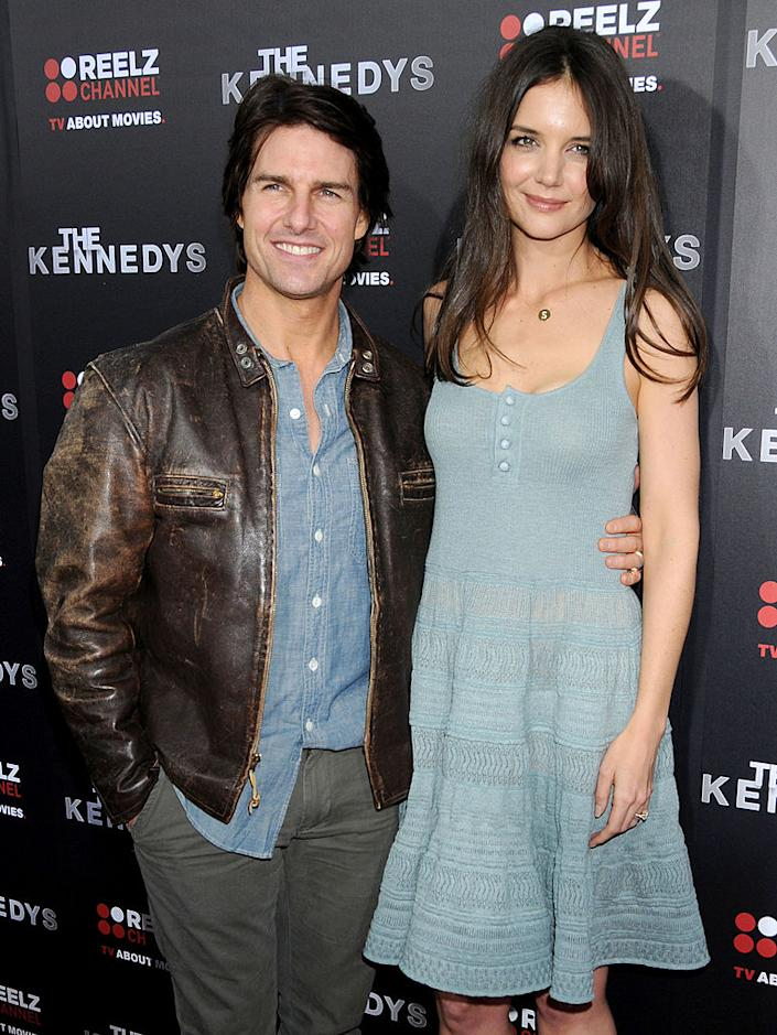 Katie Holmes attended the premiere of