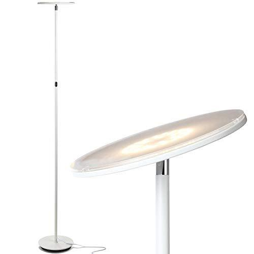 """<p>The lights in my apartment isn't great, and several people recommended that I buy this <a href=""""https://www.popsugar.com/buy/Brightech-Sky-LED-Torchiere-Super-Bright-Floor-Lamp-513051?p_name=Brightech%20Sky%20LED%20Torchiere%20Super%20Bright%20Floor%20Lamp&retailer=amazon.com&pid=513051&price=70&evar1=casa%3Aus&evar9=47334875&evar98=https%3A%2F%2Fwww.popsugar.com%2Fhome%2Fphoto-gallery%2F47334875%2Fimage%2F47334947%2FBrightech-Sky-LED-Torchiere-Super-Bright-Floor-Lamp&list1=shopping%2Csmall%20space%20living%2Cdecor%20shopping%2Cliving%20rooms%2Chome%20shopping&prop13=api&pdata=1"""" rel=""""nofollow"""" data-shoppable-link=""""1"""" target=""""_blank"""" class=""""ga-track"""" data-ga-category=""""Related"""" data-ga-label=""""https://www.amazon.com/dp/B01KMWCNBY/ref=twister_B078JYD34J?_encoding=UTF8&amp;psc=1"""" data-ga-action=""""In-Line Links"""">Brightech Sky LED Torchiere Super Bright Floor Lamp</a> ($70). It has over 7,000 positive reviews, looks modern, and creates the perfect light.</p>"""