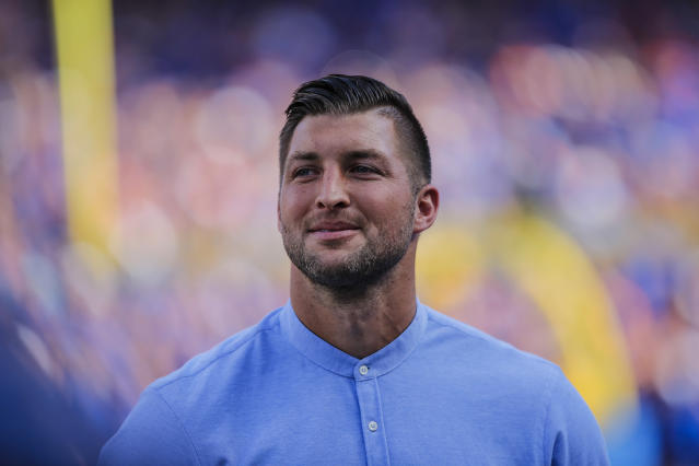 Tim Tebow did not agree with Maryland going back on its decision to retain its head football coach. (Getty)