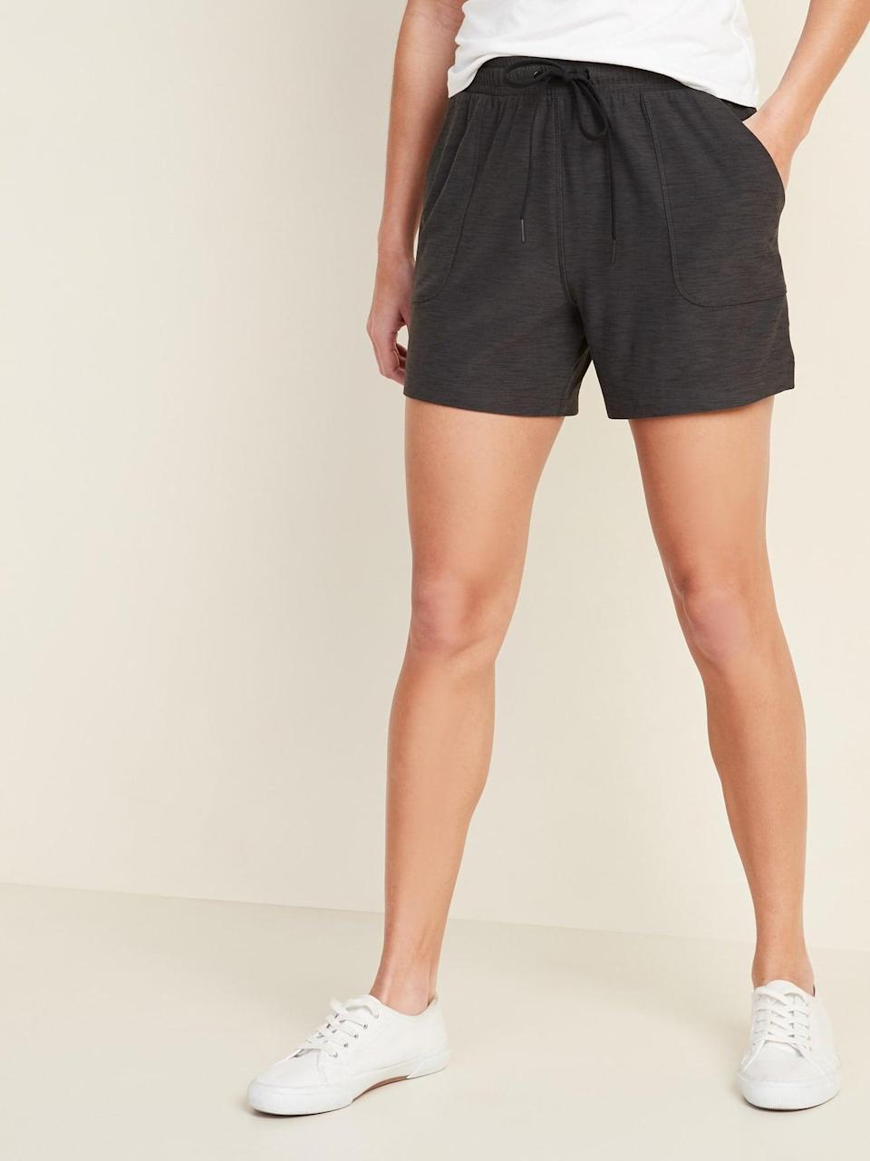 "<p>You can't go wrong with these <a href=""https://www.popsugar.com/buy/Old-Navy-Breathe-Utility-Pocket-Shorts-582879?p_name=Old%20Navy%20Breathe%20ON%20Utility-Pocket%20Shorts&retailer=oldnavy.gap.com&pid=582879&price=22&evar1=fit%3Auk&evar9=46472938&evar98=https%3A%2F%2Fwww.popsugar.com%2Ffitness%2Fphoto-gallery%2F46472938%2Fimage%2F47590551%2FOld-Navy-Breathe-ON-Utility-Pocket-Shorts&list1=shopping%2Cworkout%20clothes%2Cfitness%20gear%2Cproducts%20under%20%2450%2C50%20under%20%2450%2Cfitness%20shopping%2Caffordable%20shopping&prop13=api&pdata=1"" class=""link rapid-noclick-resp"" rel=""nofollow noopener"" target=""_blank"" data-ylk=""slk:Old Navy Breathe ON Utility-Pocket Shorts"">Old Navy Breathe ON Utility-Pocket Shorts</a> ($22, originally $25).</p>"