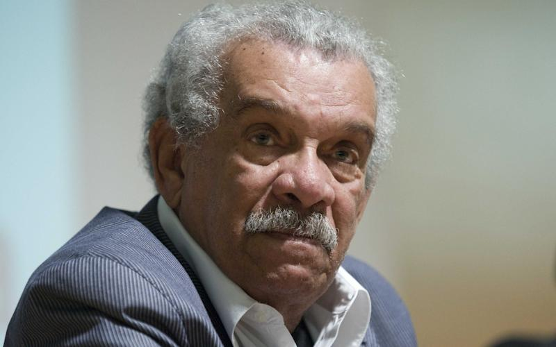 Derek Walcott in 2010  - Copyright (c) 2010 Rex Features. No use without permission.