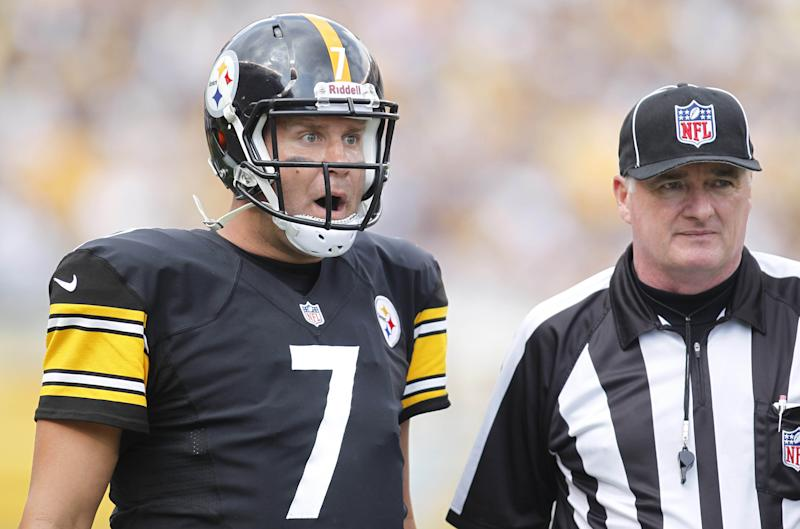 Steelers QB Ben Roethlisberger doesn't exactly feel bad for the Titans