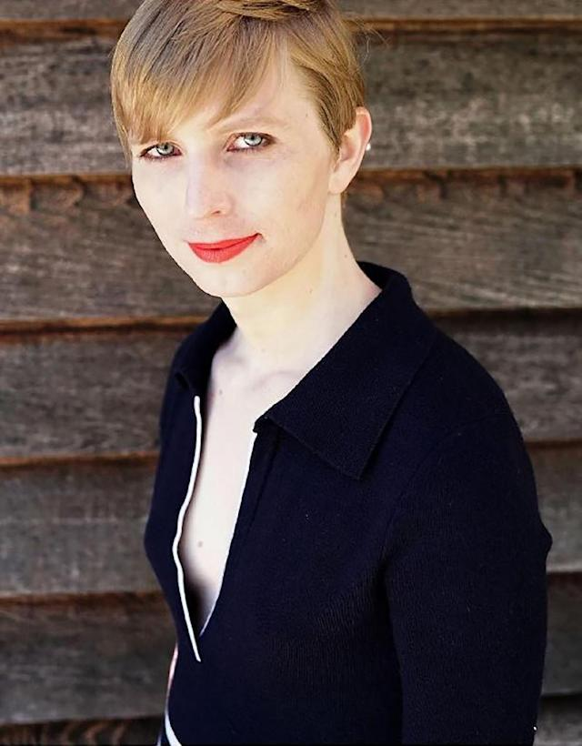 This Instagram account screen capture shows a portrait of transgender former soldier Chelsea Manning she posted on May 18, 2017 one day after being released from a top-security US military prison (AFP Photo/Eric BARADAT)