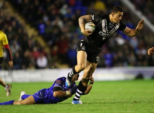 Sonny Bill Williams has played rugby league and union for New Zealand (Lynne Cameron/PA)
