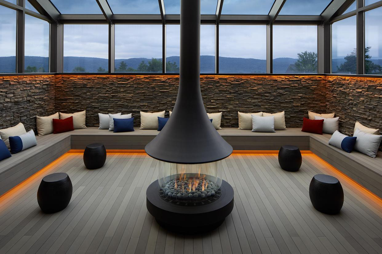 The spa at Miraval in Lenox, Massachusetts.