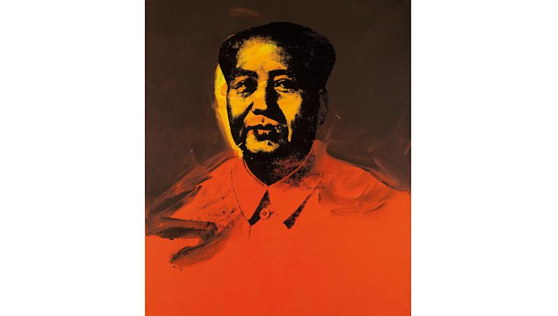 Andy Warhol's Controversial Mao Goes up for Auction in Hong Kong