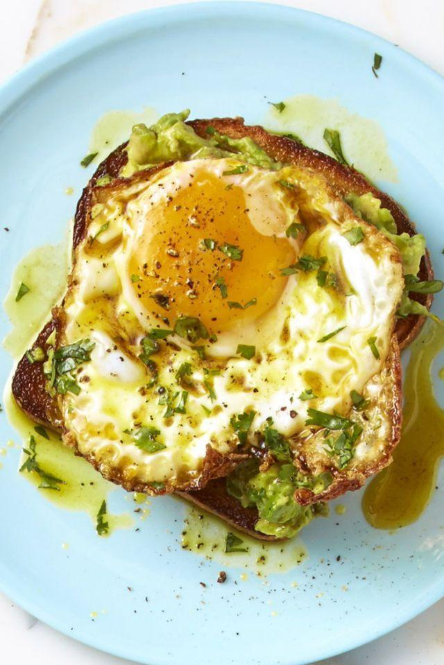 "<p>Avocado toast? <em>So 2016.</em> Add a few dashes of curry powder to the mix, though, and this breakfast is the next big thing.</p><p><em><a href=""https://www.goodhousekeeping.com/food-recipes/a43249/curry-avocado-crispy-egg-toast/"" rel=""nofollow noopener"" target=""_blank"" data-ylk=""slk:Get the recipe for Curry-Avocado Crispy Egg Toast »"" class=""link rapid-noclick-resp"">Get the recipe for Curry-Avocado Crispy Egg Toast »</a></em></p>"