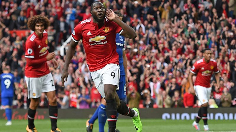 Manchester United's Paul Pogba dances happily despite injury