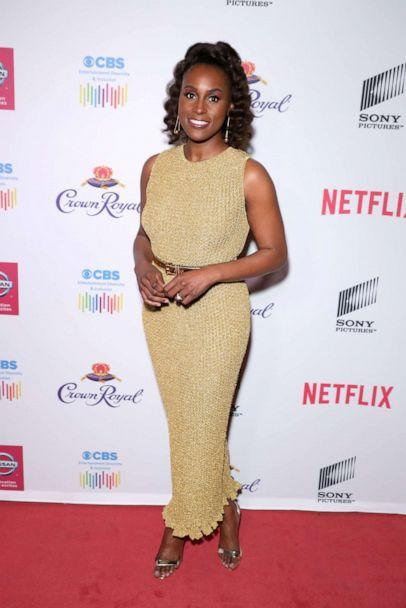 PHOTO: Issa Rae attends The African American Film Critics Association's 11th Annual AAFCA Awards at Taglyan Cultural Complex on Jan. 22, 2020 in Hollywood, Calif. (WireImage/Getty Images, FILE)