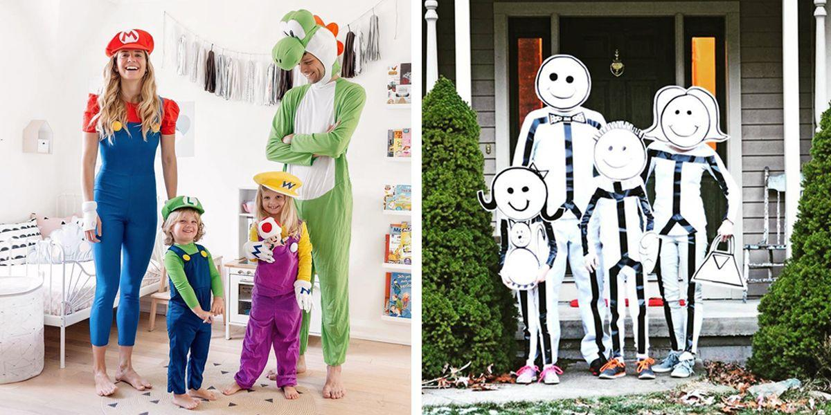 <p>This year, make Halloween a family affair. Whether you get creative and DIY them, or just purchase prepackaged costumes, these family Halloween costumes ideas are sure to steal the spotlight.</p>