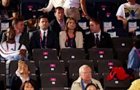 LONDON, ENGLAND - AUGUST 01: Princess Beatrice of York poses looks on during the Boxing on Day 5 of the London 2012 Olympic Games at ExCeL on August 1, 2012 in London, England. (Photo by Scott Heavey/Getty Images)