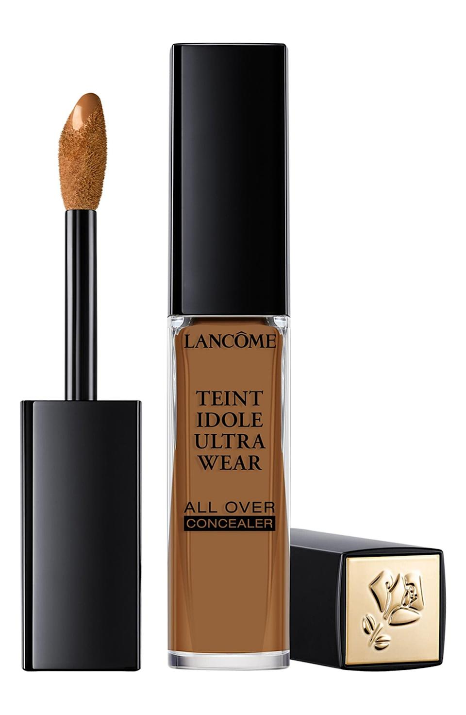 <p>Whether you need to brighten your undereyes, cover up a blemish, or give your complexion some depth, the <span>Lancôme Teint Idole Ultra Wear All Over Concealer</span> ($29) can truly do it all. It's lightweight and hydrating with a buildable, full-coverage formula, perfect for everyday use.</p>