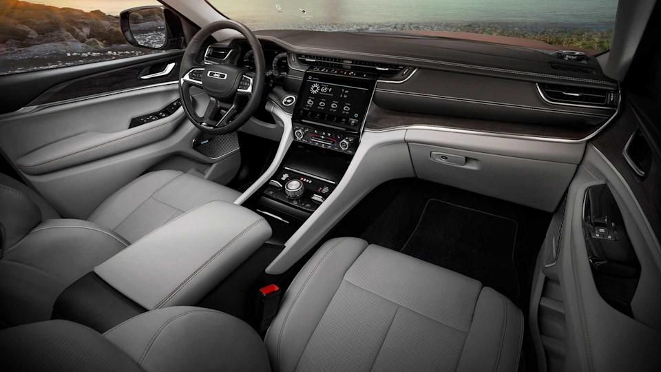 2021 Jeep Grand Cherokee L Interior