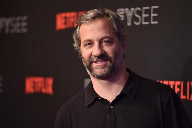 "<p>Apatow is another male in the industry who has spoken out, denouncing Weinstein's alleged actions. ""What Harvey Weinstein did was abhorrent. He admits he did it. Why should anyone be silent in their disgust and support for his victims?"" he tweeted. (Photo: Alberto E. Rodriguez/Getty Images) </p>"