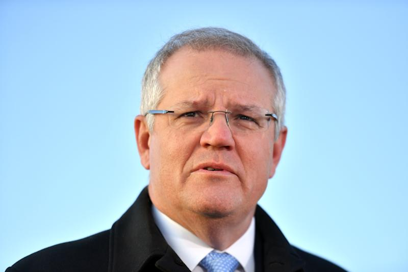 Prime Minister Scott Morrison will announce heavy investment in Australia's Defence on Wednesday. Source: AAP