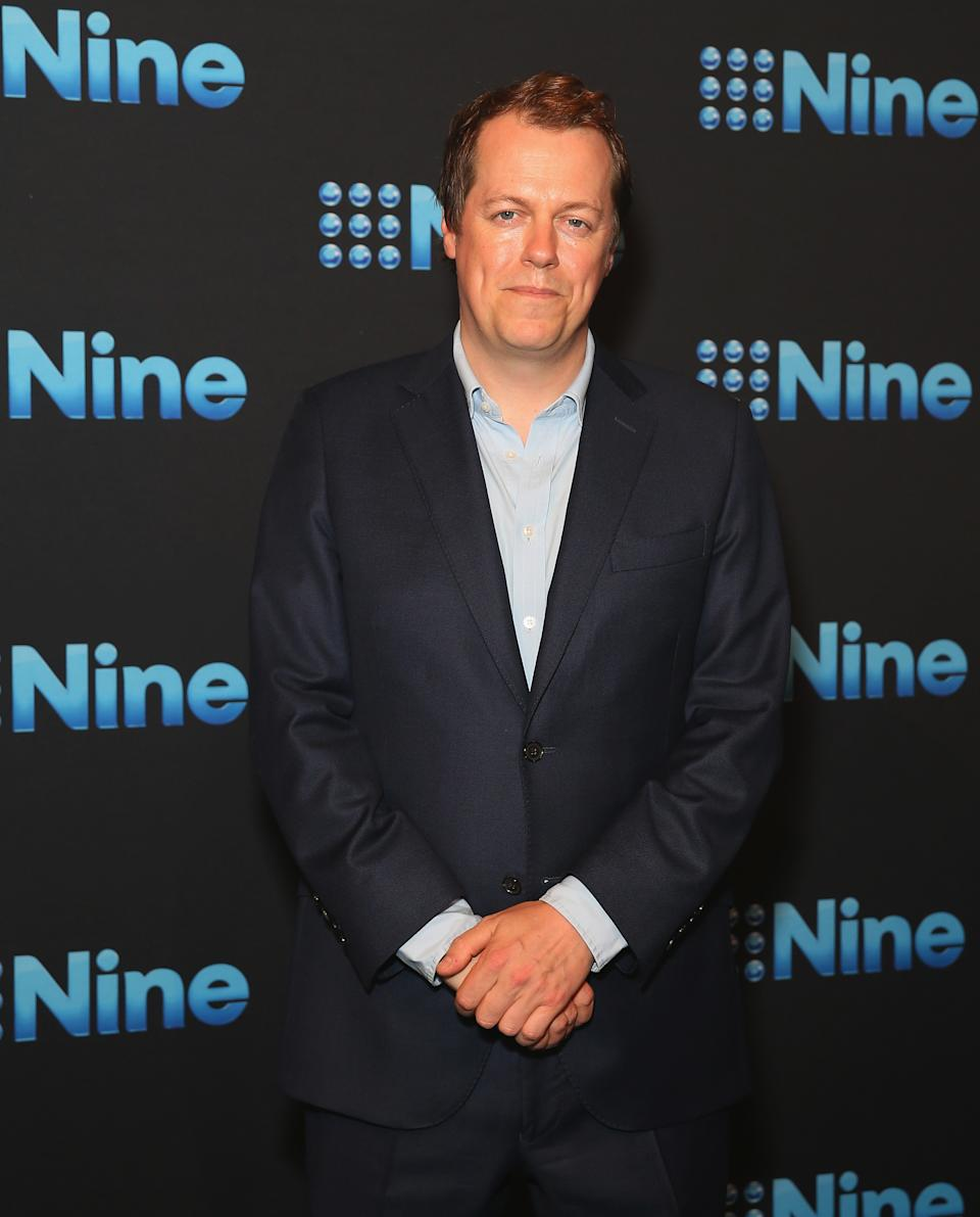 Tom Parker-Bowles poses during the Channel Nine Upfronts 2018 event on October 11, 2017 in Sydney, Australia