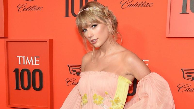 a253441121d3 Taylor Swift, Brie Larson and More Dazzle in Fabulous Looks at the Time 100  Gala