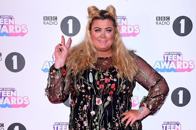 Gemma Collins attending BBC Radio 1's Teen Awards: PA Wire/PA Images