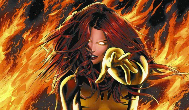 Jean Grey as X-Men's Dark Phoenix - Credit: Marvel