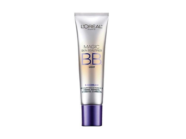"<p>""When BB creams became popular a few years ago, I thought I'd try it out by purchasing a few different inexpensive brands from Walgreens. <a href=""https://www.popsugar.com/buy/L%C3%A9al-Magic-Skin-Beautifier-BB-Cream-587589?p_name=L%27Or%C3%A9al%20Magic%20Skin%20Beautifier%20BB%20Cream&retailer=ulta.com&pid=587589&price=12&evar1=bella%3Auk&evar9=40920323&evar98=https%3A%2F%2Fwww.popsugar.com%2Fbeauty%2Fphoto-gallery%2F40920323%2Fimage%2F40920593%2FL%C3%A9al-Magic-Skin-Beautifier-BB-Cream&list1=hair%2Cmakeup%2Cbeauty%20products%2Ceditors%20pick%2Cbeauty%20shopping%2Cbeauty%20news%2Cdrugstore%20beauty%2Cskin%20care&prop13=api&pdata=1"" class=""link rapid-noclick-resp"" rel=""nofollow noopener"" target=""_blank"" data-ylk=""slk:L'Oréal Magic Skin Beautifier BB Cream"">L'Oréal Magic Skin Beautifier BB Cream</a> ($12) was my favorite, and I've been using it ever since. The small tube lasts forever, and I love how it covers well but is still light and natural."" - Tara Block, content director, Living</p>"