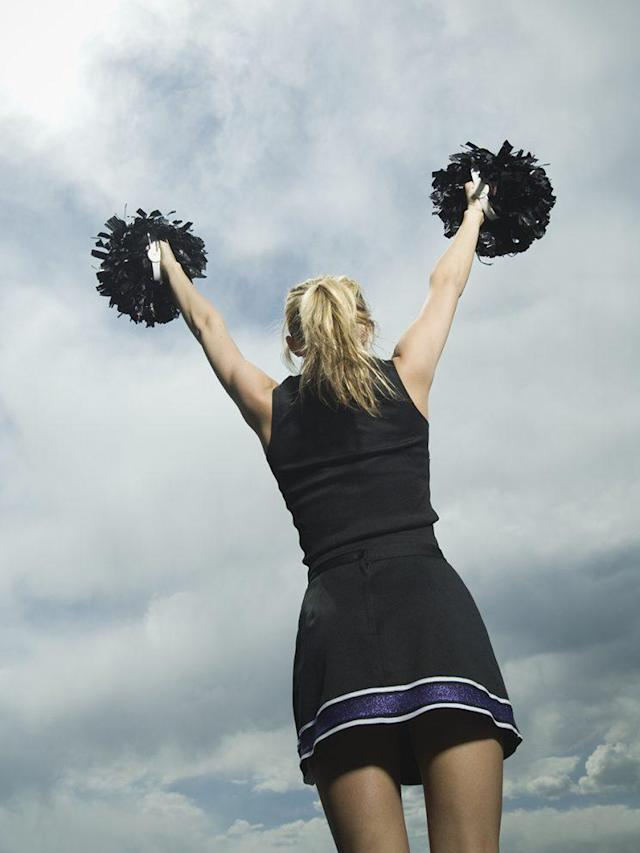 A cheerleader faked a burglary so she wouldn't have to turn in her beloved cheer uniforms. (Photo: Getty Images)