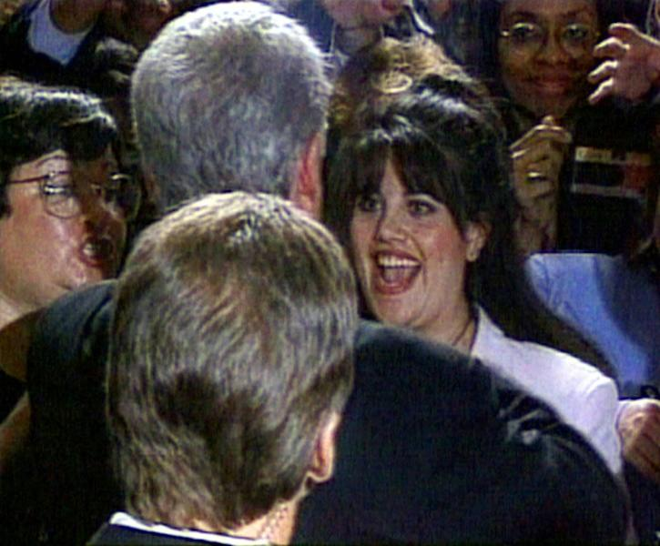 Former US president Bill Clinton is probably the best known survivor of impeachment proceedings after a sex scandal involving Monica Lewinsky (R)