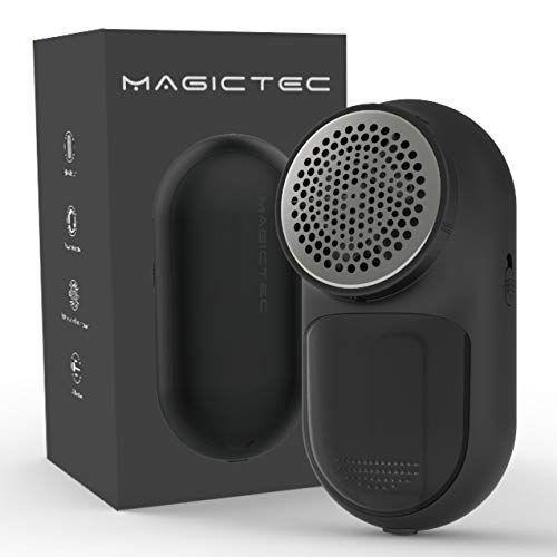 """<p><strong>Magictec</strong></p><p>amazon.com</p><p><strong>$11.51</strong></p><p><a href=""""https://www.amazon.com/dp/B082VQBLL6?tag=syn-yahoo-20&ascsubtag=%5Bartid%7C10055.g.34285369%5Bsrc%7Cyahoo-us"""" rel=""""nofollow noopener"""" target=""""_blank"""" data-ylk=""""slk:Shop Now"""" class=""""link rapid-noclick-resp"""">Shop Now</a></p><p>Most fabric shavers require batteries that you have to purchase separately, but<strong> this one comes with a rechargeable battery that you can use over and over</strong>. It also has over 10,000 reviews on Amazon with an average 4.7-star rating from users who say they can't believe how well it performs for the low price. On top of that, there's a built-in fabric brush to wipe away lint, pet hair and dust.</p>"""