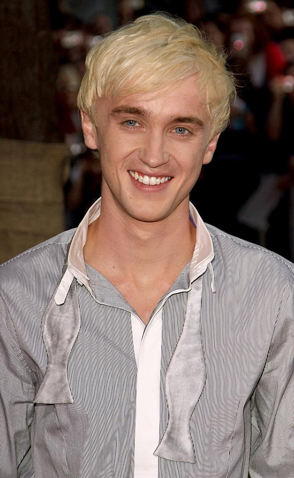 """<a href=""""http://movies.yahoo.com/movie/contributor/1800308596"""">Tom Felton</a> at the New York premiere of <a href=""""http://movies.yahoo.com/movie/1809791044/info"""">Harry Potter and the Half-Blood Prince</a> - 07/09/2009"""