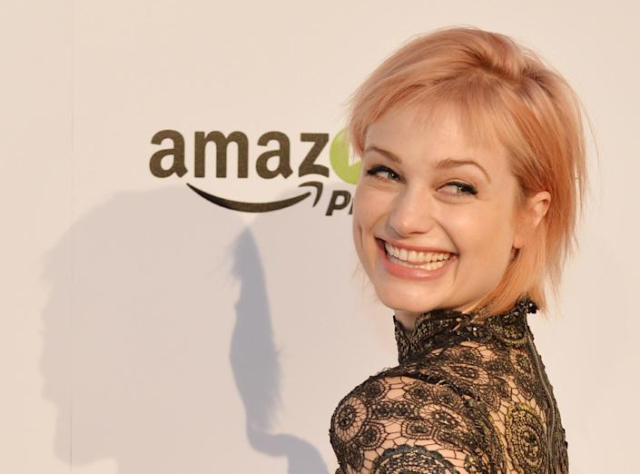 Actress Alison Sudol arrives for the premiere of Amazon Prime's 'Transparent', at the Ace Hotel in Los Angeles, California, on September 15, 2014 (AFP Photo/Mark Ralston)