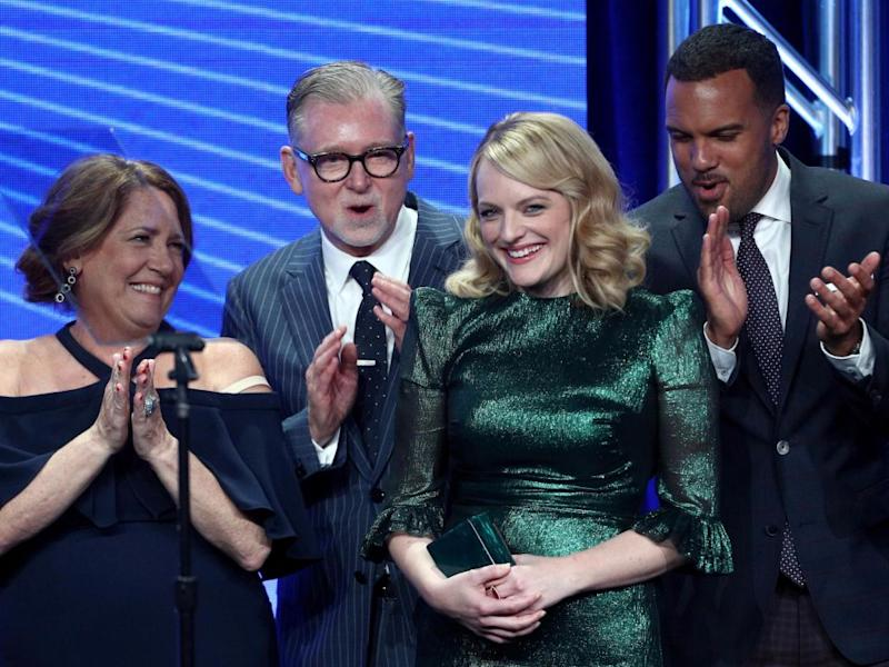 The Handmaid's Tale took home two awards. Source: Getty