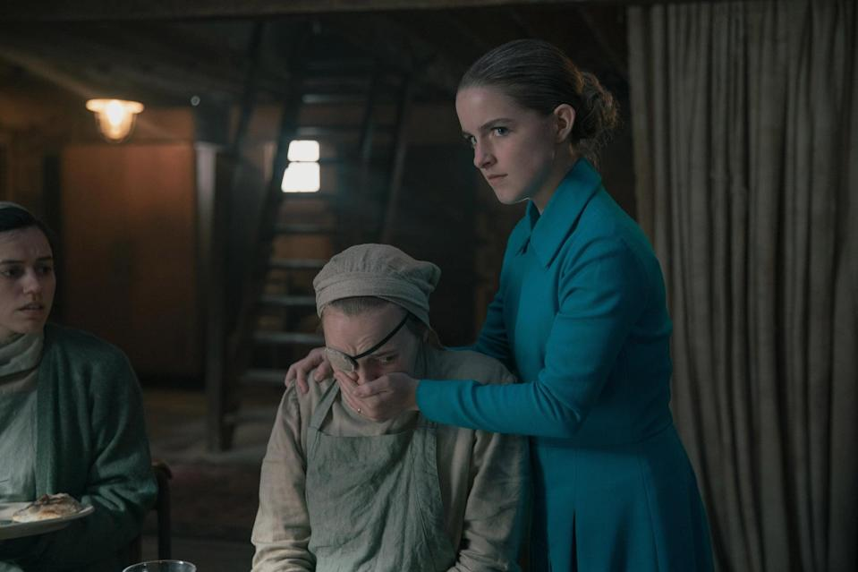 THE HANDMAID'S TALE, Pigs', (Season 4, ep. 401, aired Apr. 28, 2021). photo: Hulu / Courtesy Everett Collection