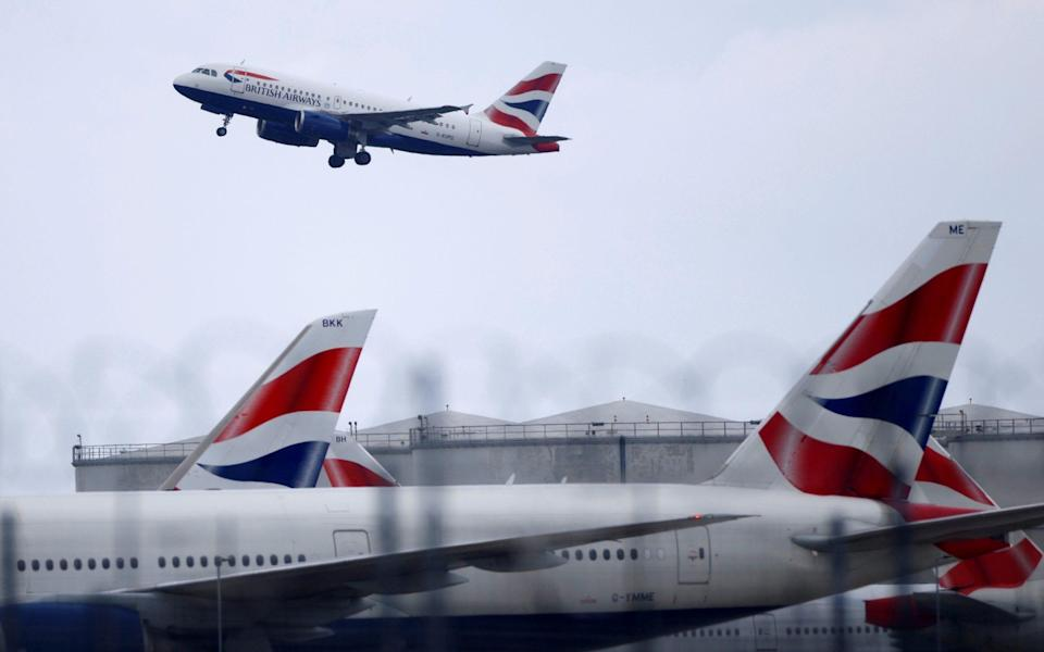 The airline said it was protecting jobs and urged the Government to reopen global travel - REUTERS