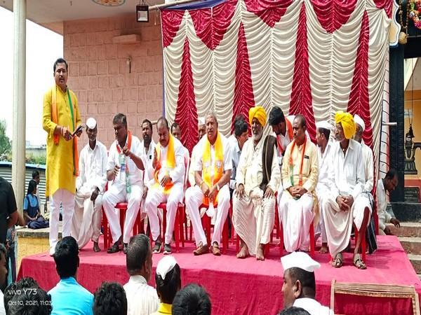 BJP ministers campaign in Karnataka's Sindagi for upcoming by-poll election